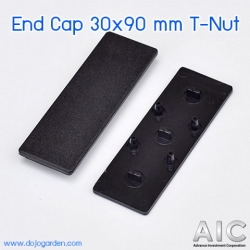 End Cap 30x90 mm T-Nut