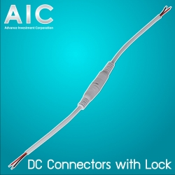DC Connectors with Lock