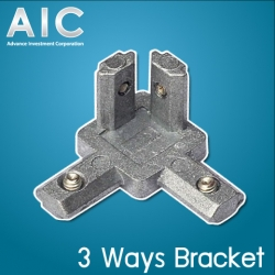 3 Ways Bracket 30 mm