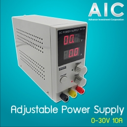 Adjustable Power Supply 0-30V 0-10A