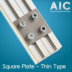 Square Plate 20 mm - Thin Type Kit Set