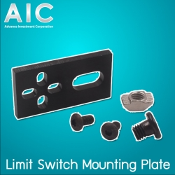 Limit switch mounting plate