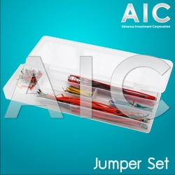 140 pcs U Shape Jumper Cable Kit