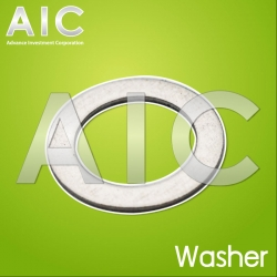 stainless washer M8x12x0.5 - Pack 4
