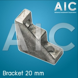 Bracket 20 mm TypeB - Pack 4