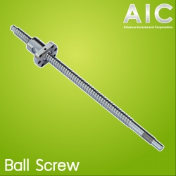 SFU1204 Ball screw with flange nut BK/BF10 end