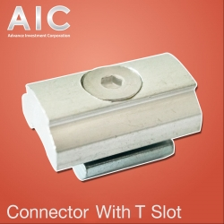 Connector with T Slot