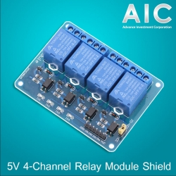 5V 4-Channel Relay Module Shield