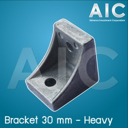 Bracket 30 mm - Heavy Load - Pack 4