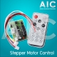 Stepper Motor Control with Remote