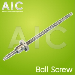 SFU1204 ball screw end machined 300 mm