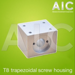T8 trapezoidal screw housing