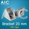 Bracket 20 mm thin