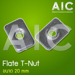 Flate T-Nut 20 mm - M5