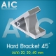 Hard-Bracket - 40 mm