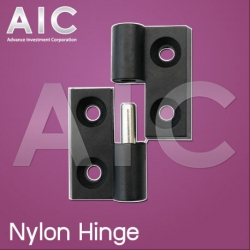 30x30 Detachable Nylon hinge L - Kit Set - Pack2