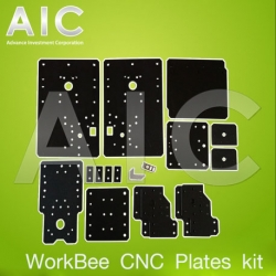 WorkBee CNC Aluminum Plates kit