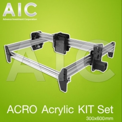 ACRO Acrylic Plate KIT Set 300x600 mm