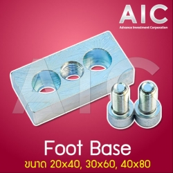 Foot Base 30x60 mm