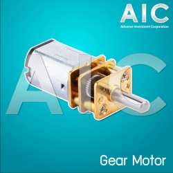 Mini Gear Motor 300rpm