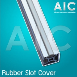 Rubber Slot Cover 40 mm - สีเทา