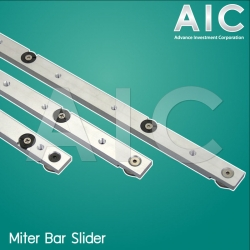 Miter Bar Slider with Roller 450 mm.