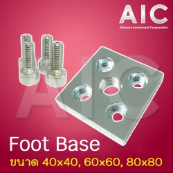 Foot Base 80x80 mm