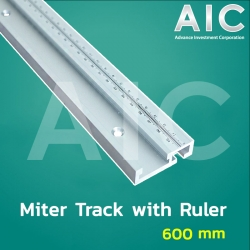 Miter-track with Ruler 600 mm