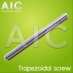 Trapezoidal screw T5 400mm