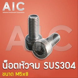 Socket Cap Head Screw - Stainless M5x8