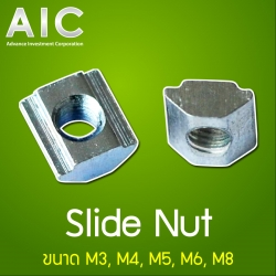 Slide Nut 20 mm M3 Pack100