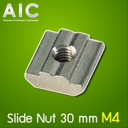 Slide Nut 30 mm M4 Pack100