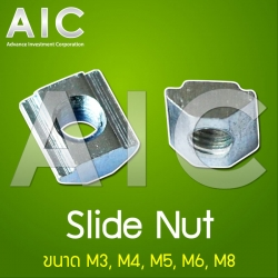 Slide Nut 30 mm M8 Pack50