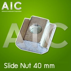 Slide Nut 40 mm M6 Pack100