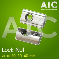 Lock Nut 30 mm M6 - Pack 50