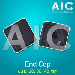 End Cap 40x40 mm Heavy Load - Pack 10