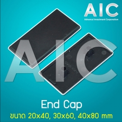 End Cap 40x80 mm T-Nut - Pack 10