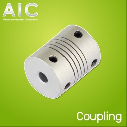 Coupling D20 L25 for 2-10 mm Shaft